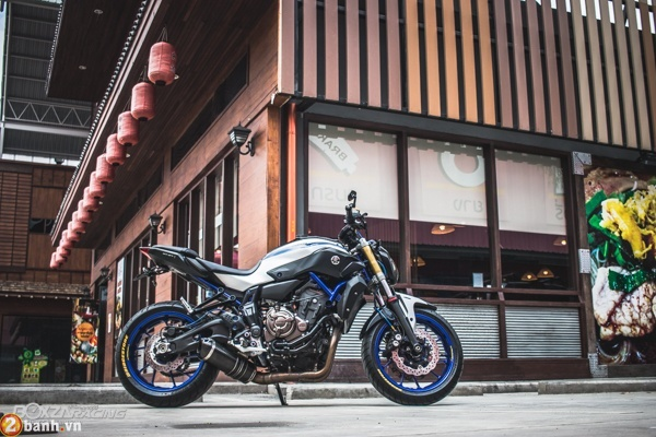 Yamaha MT07 voi phien ban do day phong cach - 10