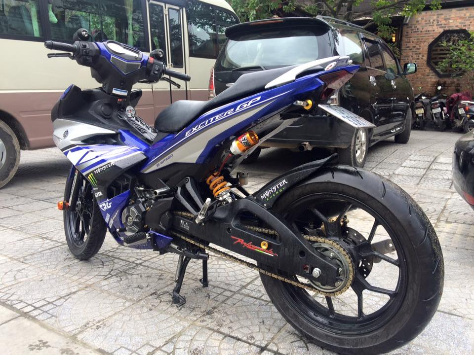 Exciter 150 do mam R25 noi gap op gap xinhan Rizoma