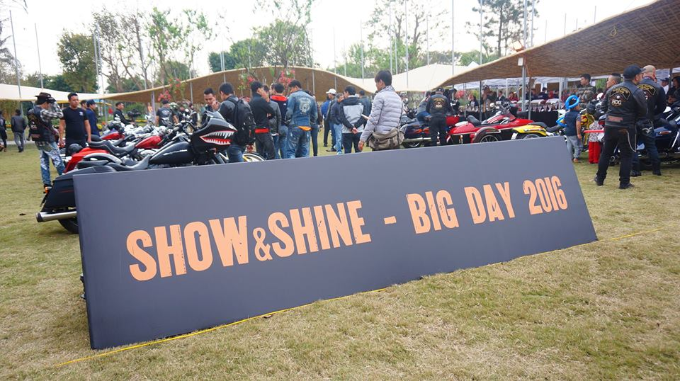 Hang tram sieu xe mo to PKL hoi tu tai Dai hoi biker Big Day 2016 - 15