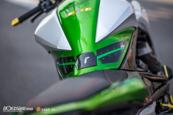 Kawasaki Z800 do day an tuong voi phien ban Green Giant - 13