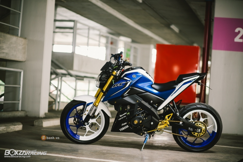 Yamaha MSlaz do an tuong voi phien ban Blue Machine - 2