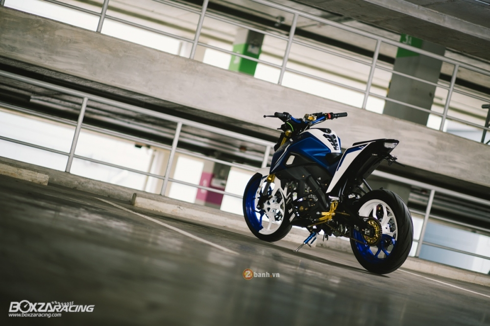 Yamaha MSlaz do an tuong voi phien ban Blue Machine - 14
