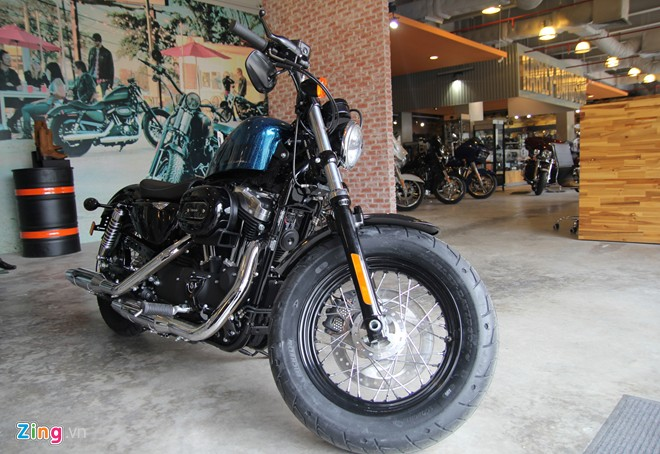 Can canh HarleyDavidson FortyEight duoc giam gia tai Viet Nam - 2