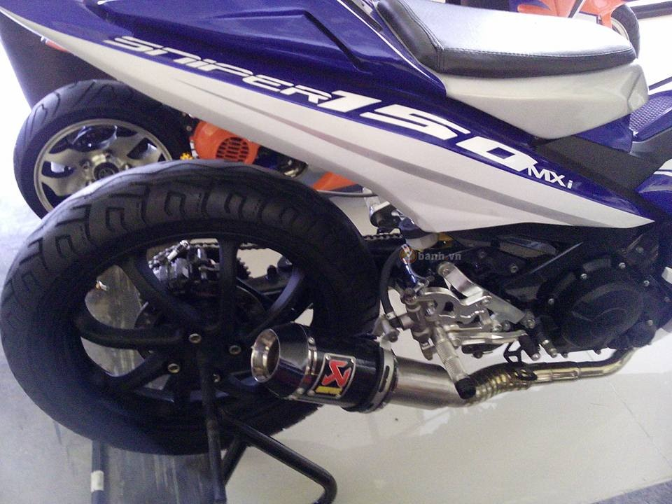 Exciter 150 do phong cach M1 Edition khung cua biker nuoc ban - 2
