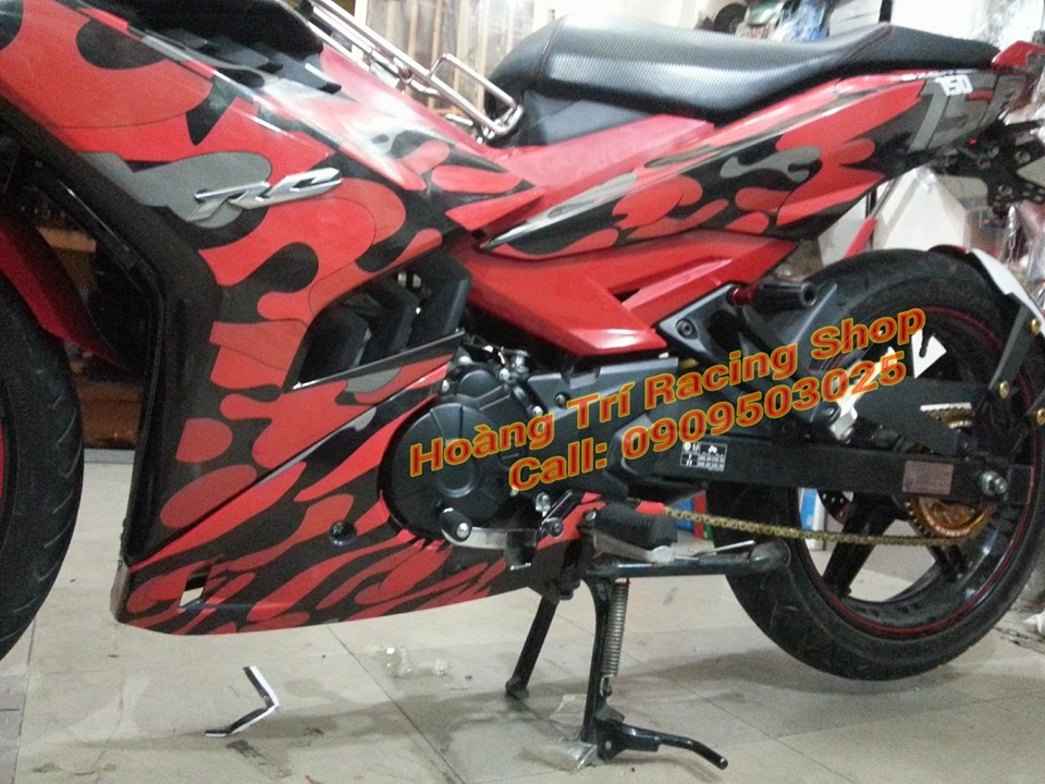Exciter 150 do theo phong cach Camo - 3