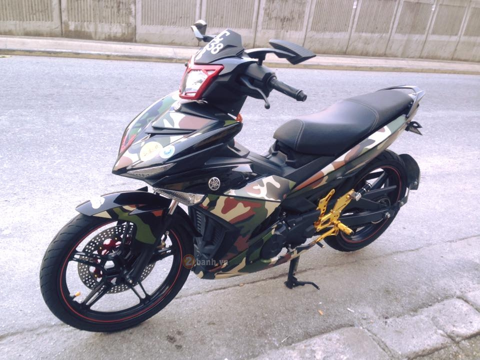 Exciter 150 do theo phong cach Linh My cua biker nuoc ban - 2