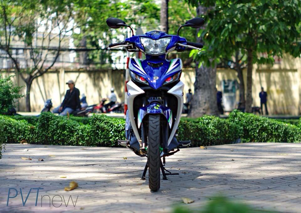Exciter GP 135 Don Gian Nhung Day Phong Cach - 3