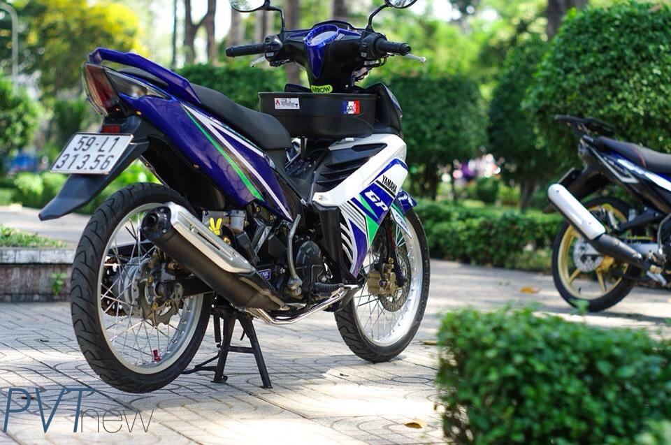 Exciter GP 135 Don Gian Nhung Day Phong Cach - 7