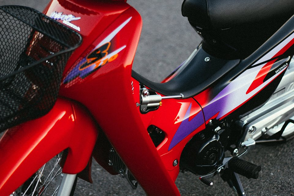 Full bo anh tinh te ve chiec Honda Wave S 110 phien ban Red Candy - 2