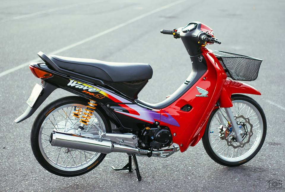 Full bo anh tinh te ve chiec Honda Wave S 110 phien ban Red Candy - 6