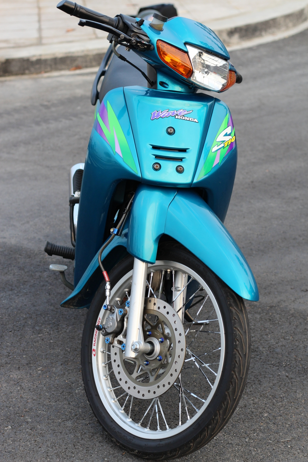 full bo anh ve chiec wave S 110 blue - 2