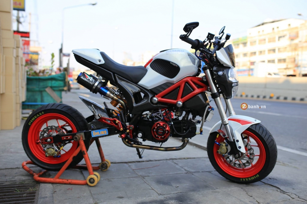 GPX Demon 125 do day phong cach cung dan do choi noi bat