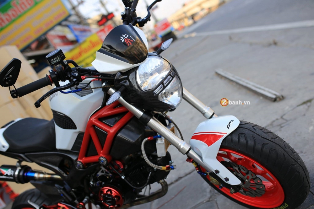 GPX Demon 125 do day phong cach cung dan do choi noi bat - 3