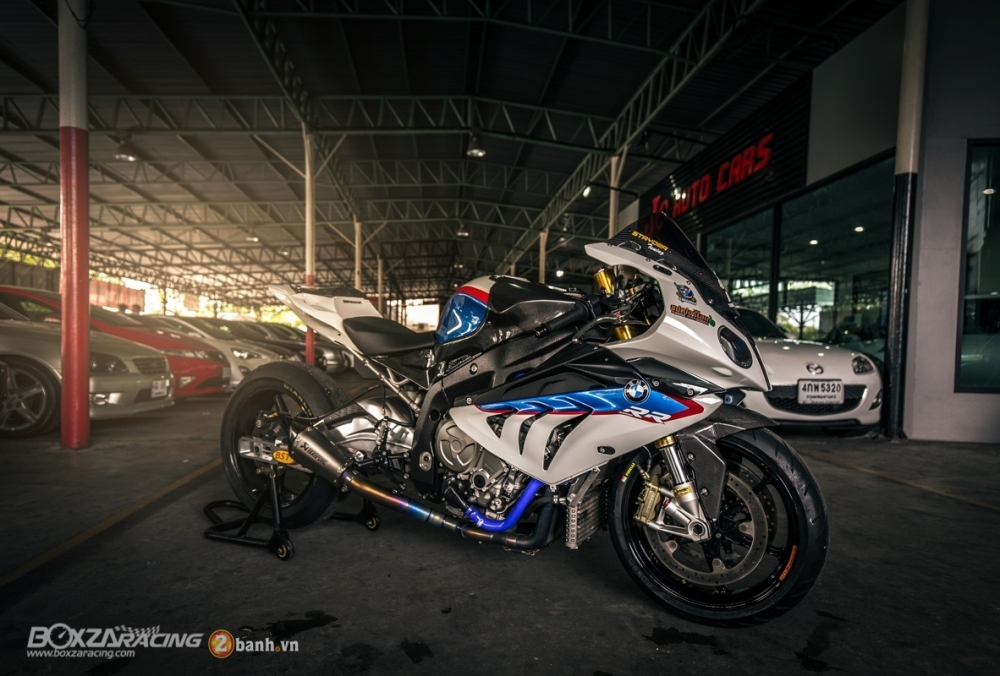 Sieu ca map BMW S1000RR do phong cach Dragbike - 18