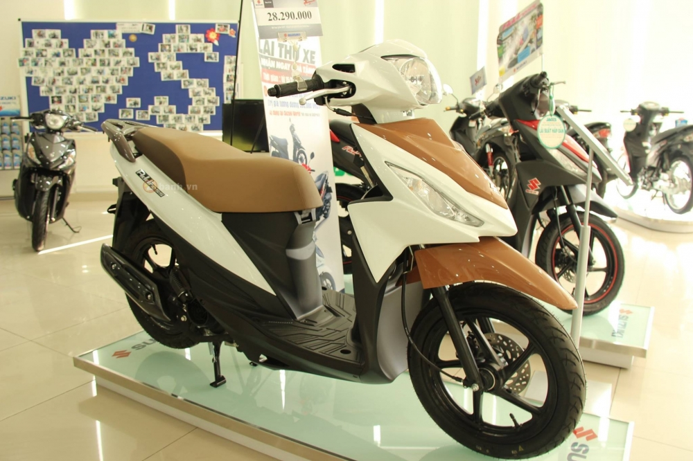 Suzuki Address 110 2016 bo sung them mau moi - 2