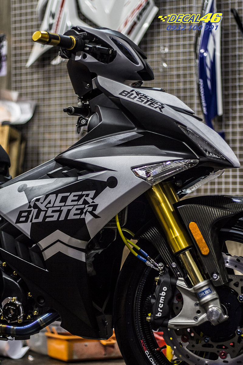 Tem xe Exciter 150 Tem xe Racer Buster