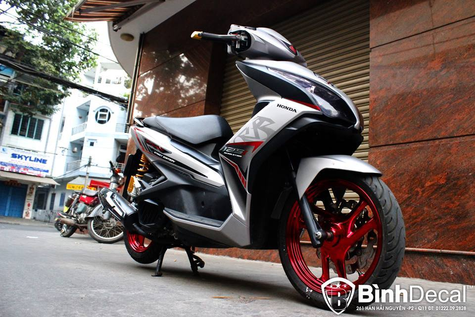 Air Blade 125 do chat lu cua dan choi Viet - 2