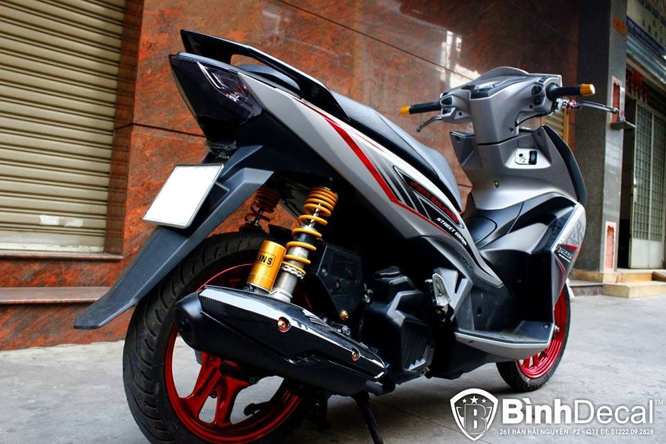 Air Blade 125 do chat lu cua dan choi Viet - 4