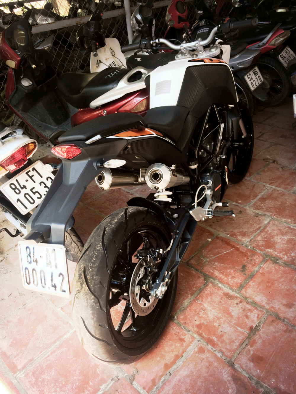 Ban gap KTM duke 200 no ABS gia re - 6