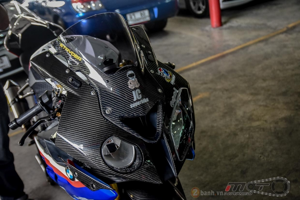 BMW S1000RR hoan hao trong phien ban do Super OHM - 2
