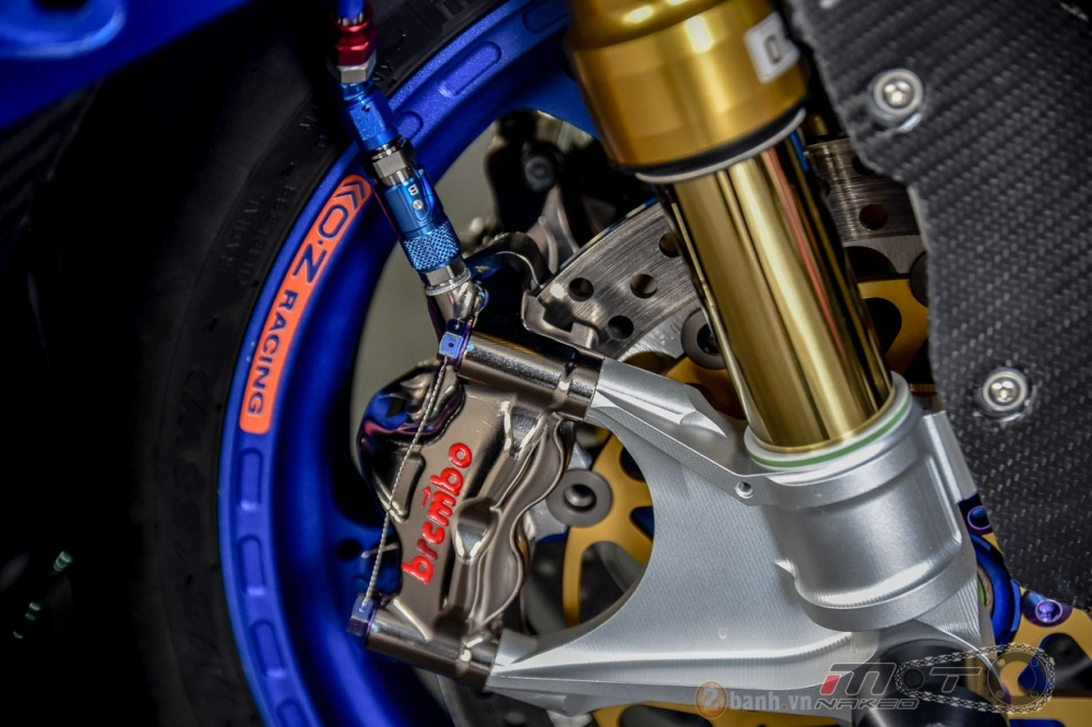 BMW S1000RR hoan hao trong phien ban do Super OHM - 10