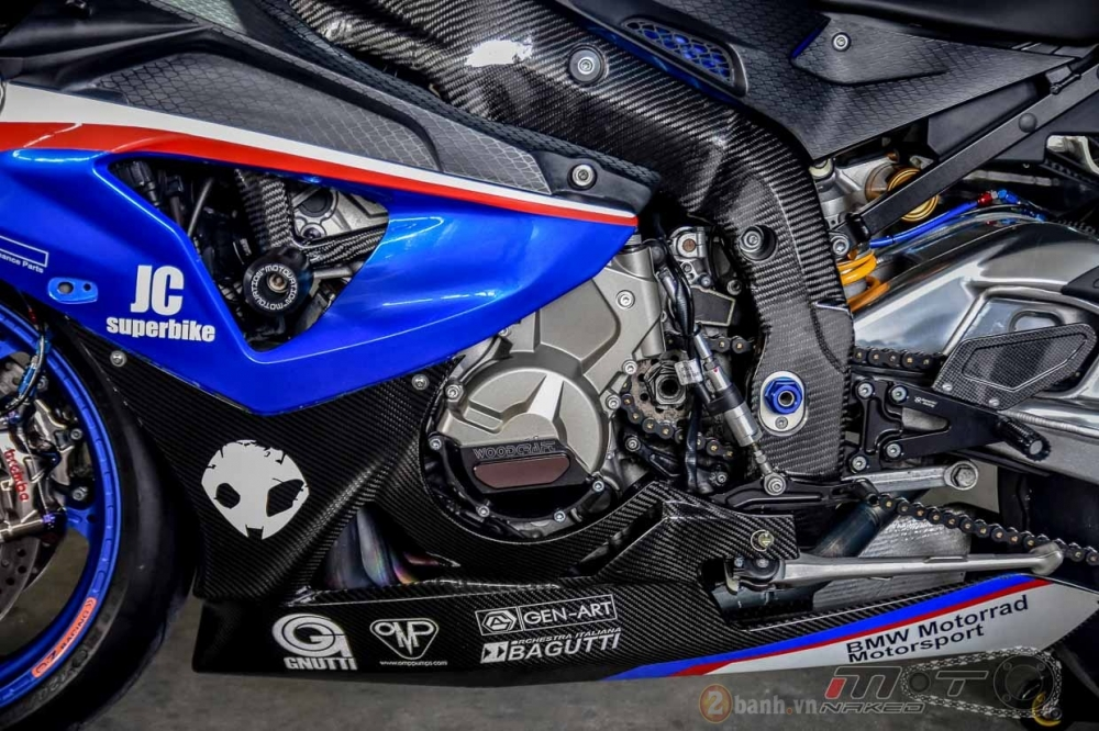 BMW S1000RR hoan hao trong phien ban do Super OHM - 22