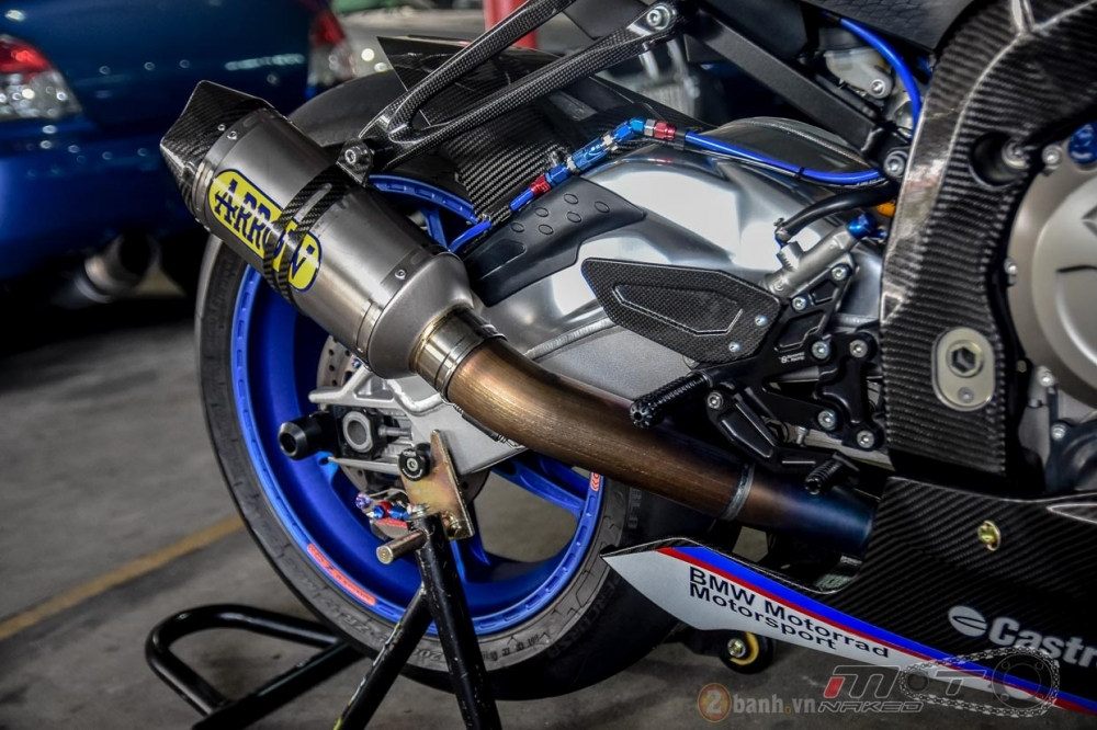 BMW S1000RR hoan hao trong phien ban do Super OHM - 24