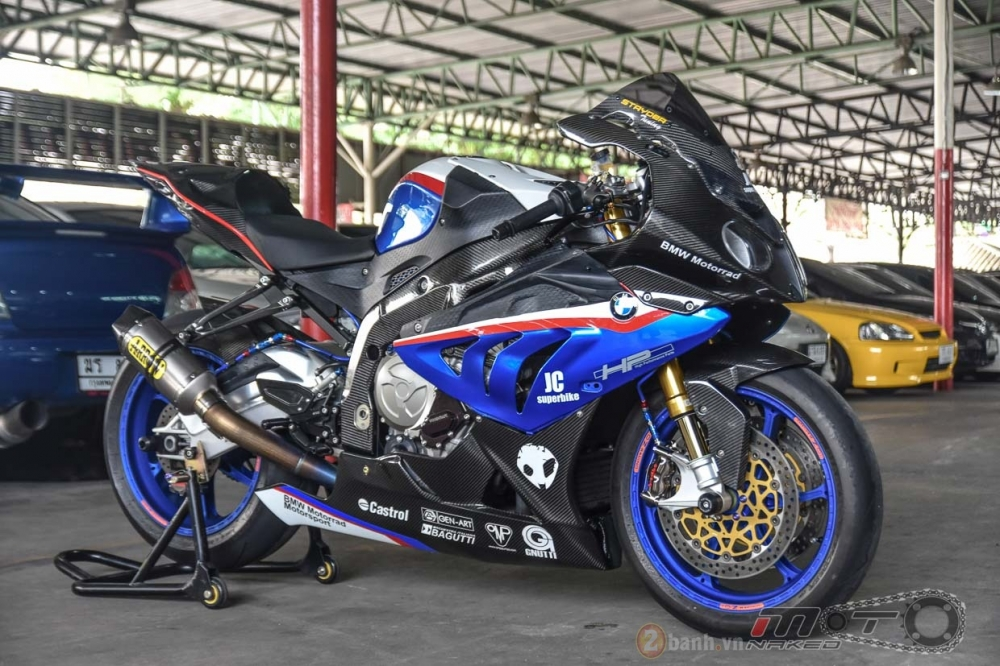 BMW S1000RR hoan hao trong phien ban do Super OHM - 26