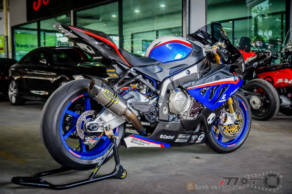 BMW S1000RR hoan hao trong phien ban do Super OHM - 28