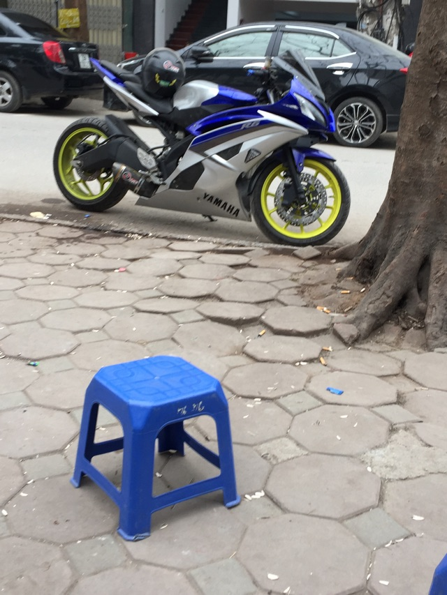 Can canh Yamaha R15 do dan ao R6 cuc ngau - 4