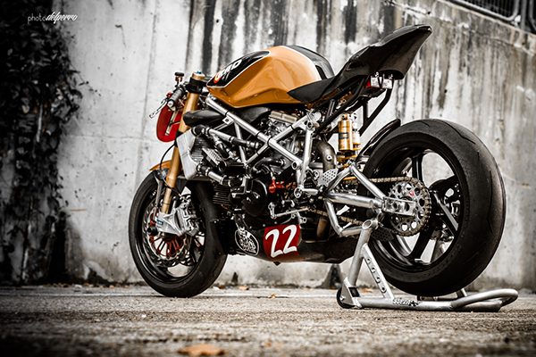 Ducati 1198 do phong cach Cafe Racer cuc chat - 4