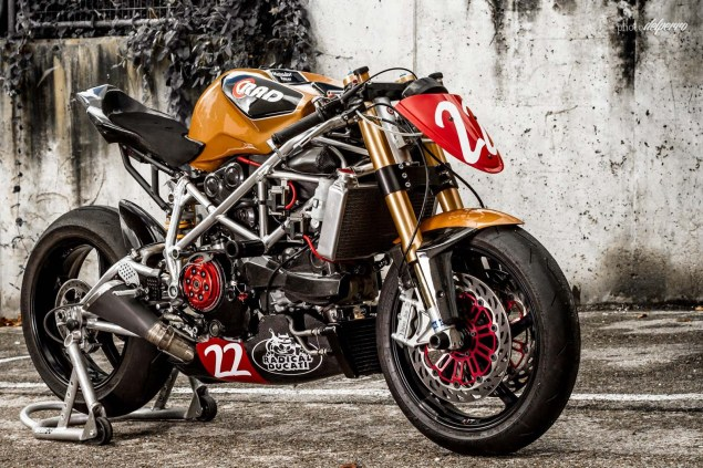 Ducati 1198 do phong cach Cafe Racer cuc chat - 6