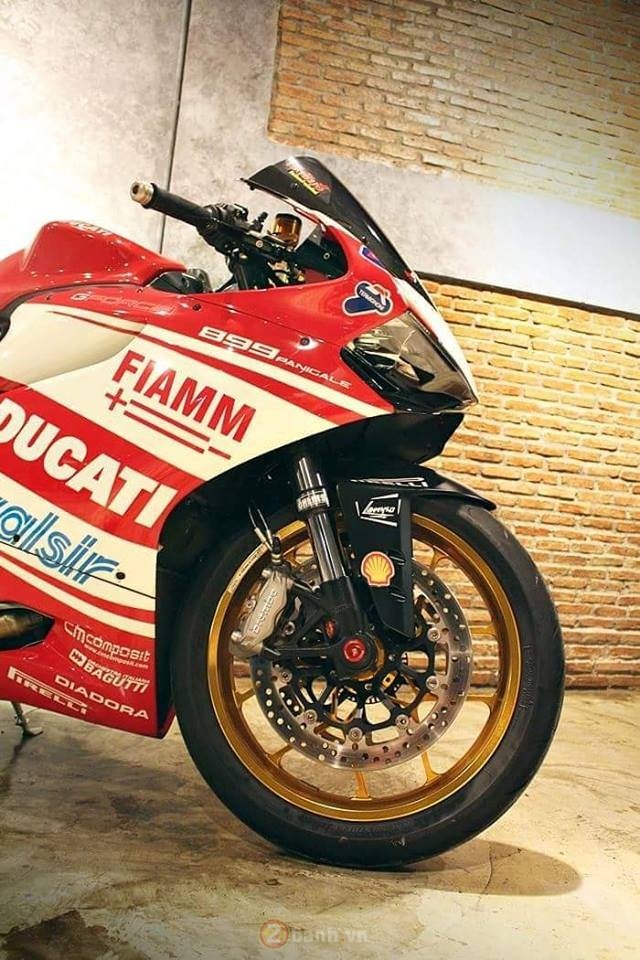 Ducati 899 Panigale cuc chat trong ban do den tu GForce - 7
