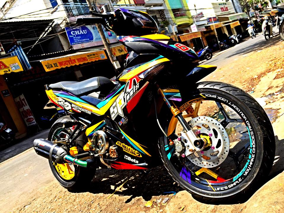 Exciter 150 phong cach Speed Hunters day doc dao va noi bat - 2