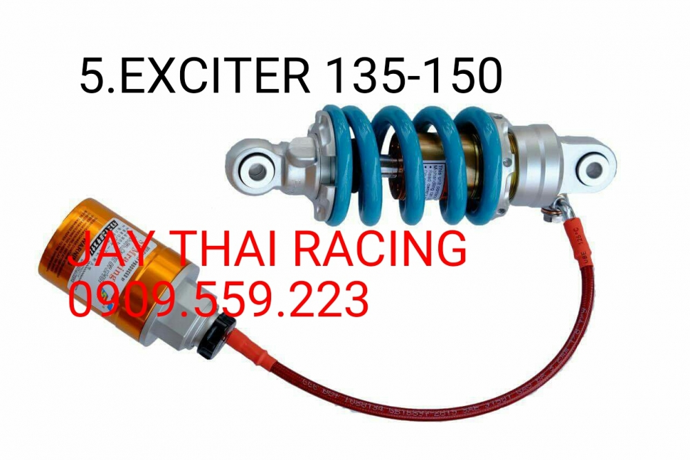 Phuoc SHARK FACTORY danh cho EXCITER 135 150 co tang chinh nang nhe theo y - 2