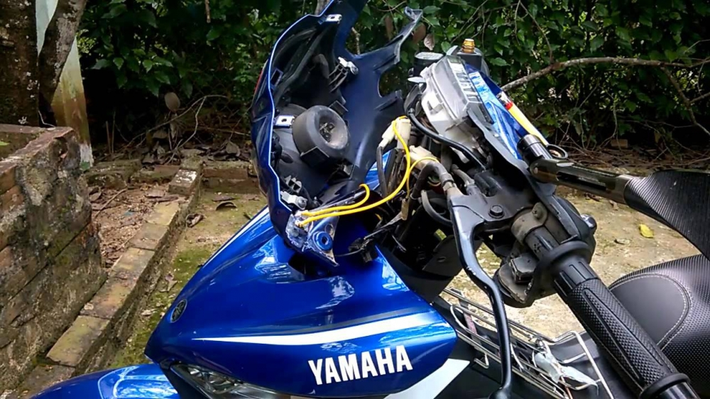 Quy dinh ve mau day tren xe Yamaha hien nay