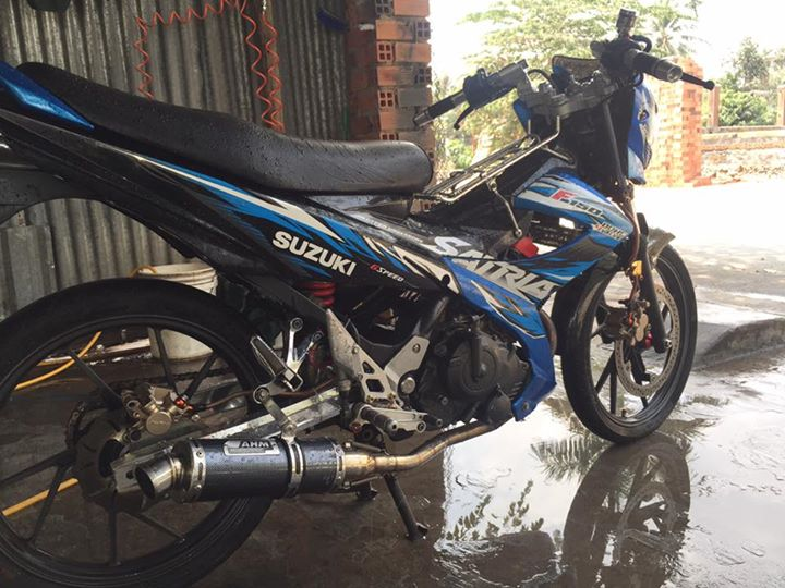 Suzuki raider thai do full satria F150 - 2