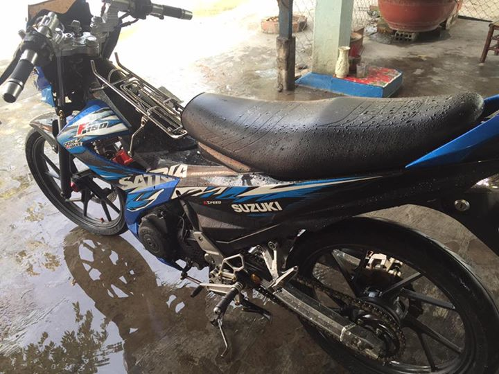Suzuki raider thai do full satria F150 - 4