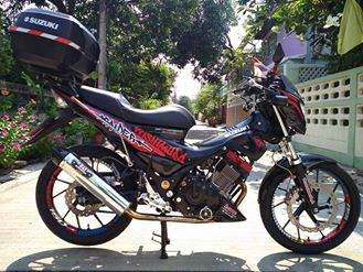 Suzuki raider version yoshimura day an tuong - 12