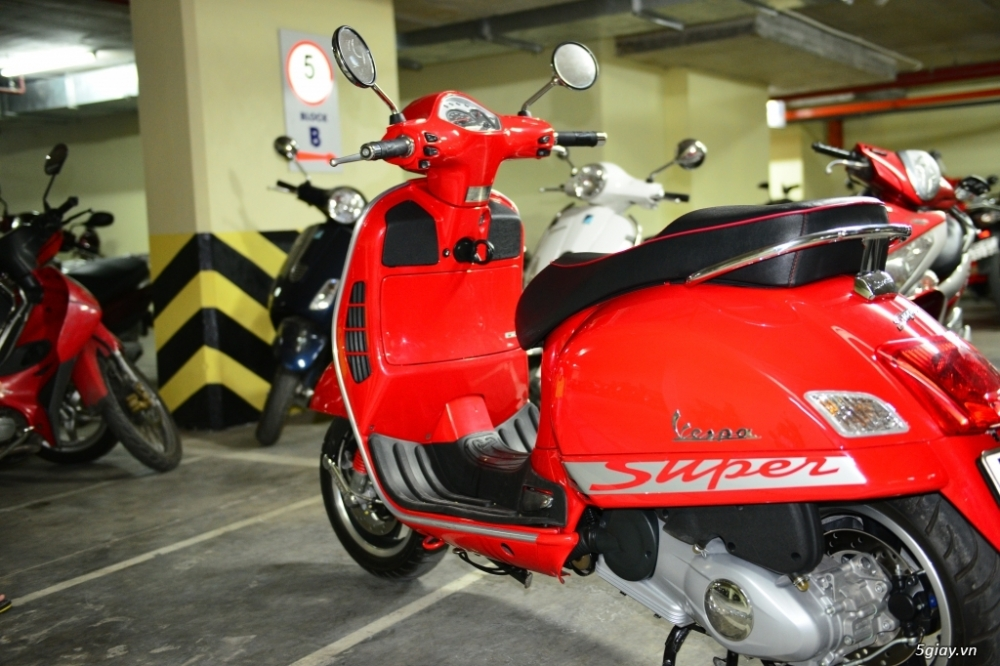 Vespa 125 Gts 3v ie do tuyet dep - 5