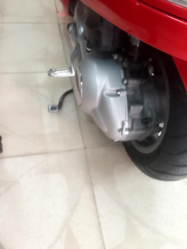 Vespa Lx 125 mau do chinh chu bstp 8 nut - 2