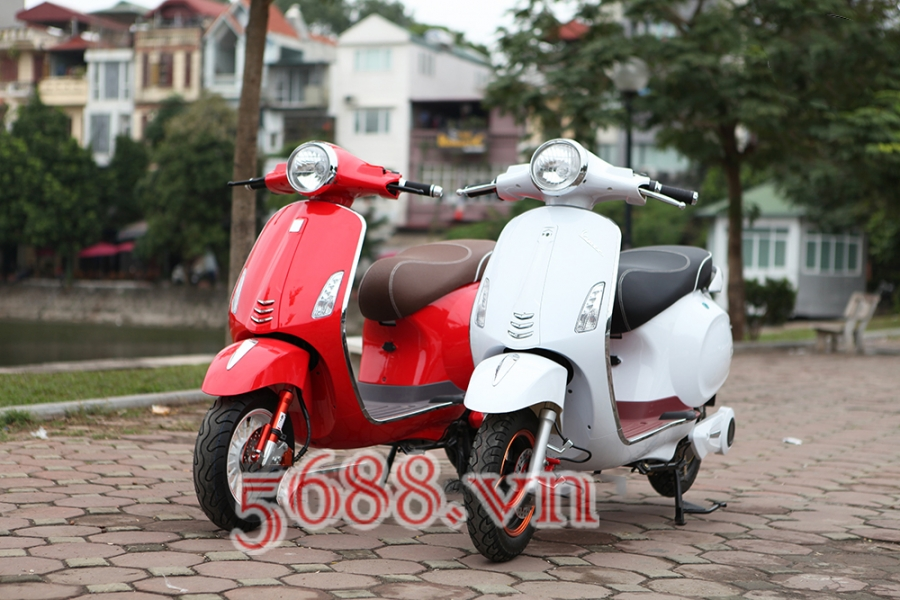 Xe dien sunra vespa ca tinh gia re