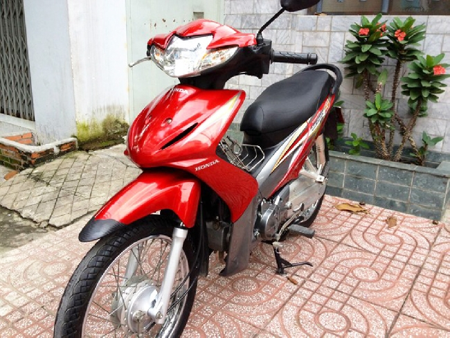 Xe Honda Wave S 2010 mau do
