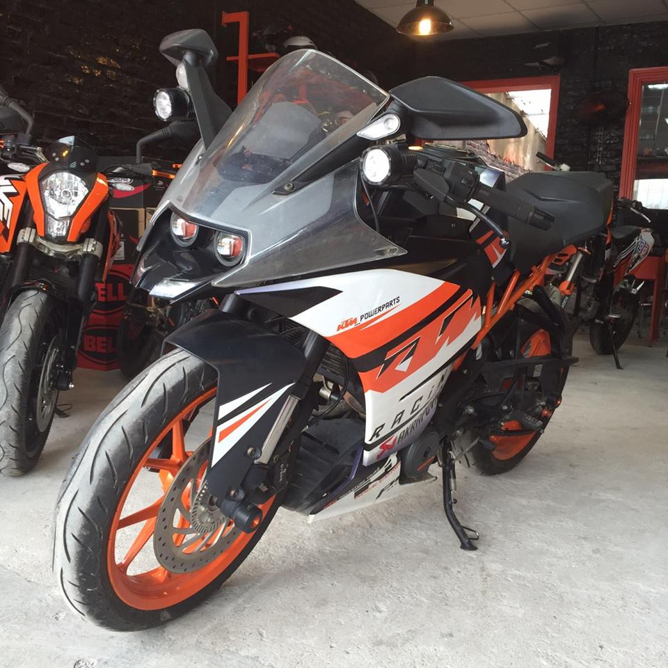 KTM Ha Noi KTM RC 390 ABS used - 2