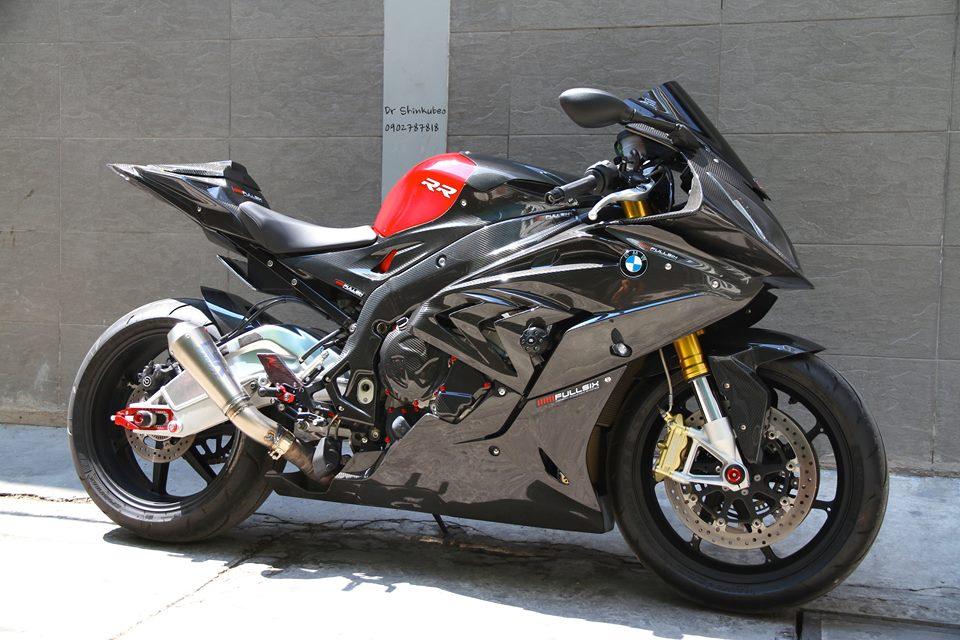 BMW S1000RR 2015 do full carbon cuc chat tai Viet Nam - 2