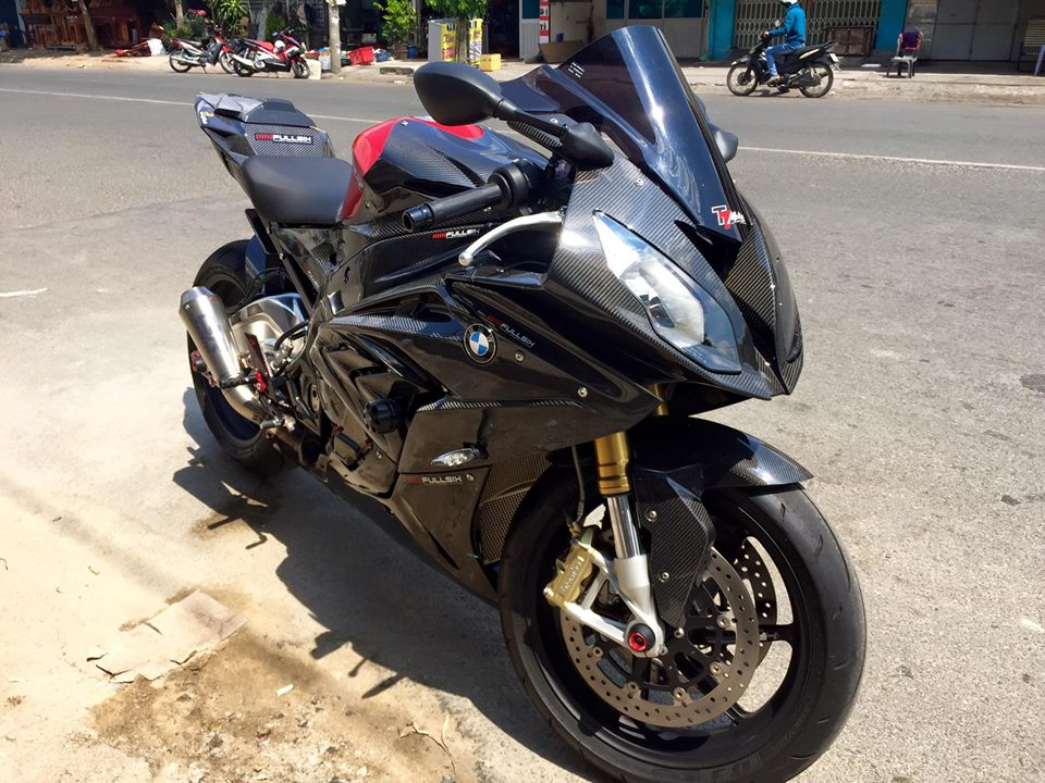 BMW S1000RR 2015 do full carbon cuc chat tai Viet Nam - 10