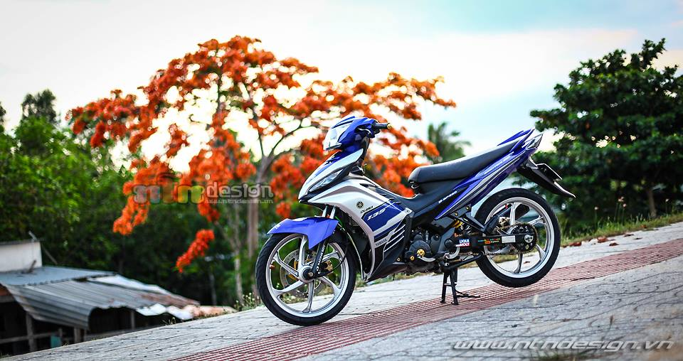 Chao thu cung phien ban Exciter 135 do phong cach - 4