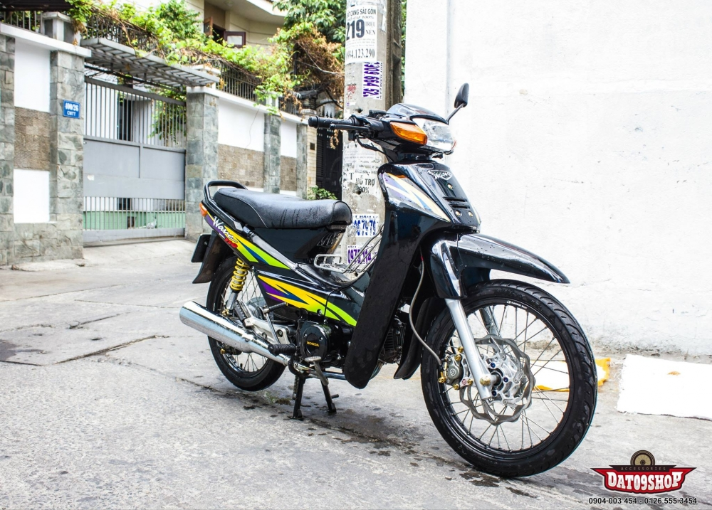 Don gian nhung day an tuong voi chiec Wave 110 do - 2
