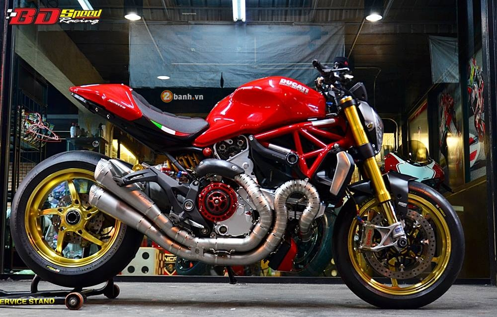 Ducati Monster 1200S muot ma voi dan do choi hang hieu - 24