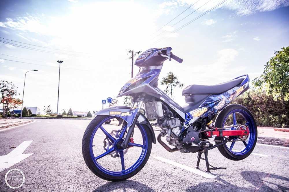 Exciter 135 do phong cach cop day manh me - 2
